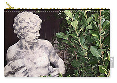 Carry-all Pouch featuring the photograph Statue 1 by Pamela Cooper