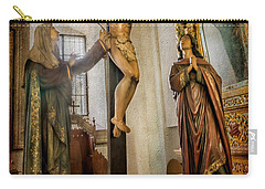Statue Of Jesus Carry-all Pouch