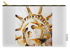 Statue Of Liberty Closeup Carry-all Pouch