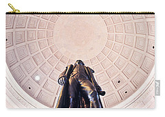 Statue Of Thomas Jefferson Carry-all Pouch by Panoramic Images