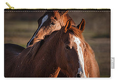 Stay Close Carry-all Pouch by Ana V Ramirez