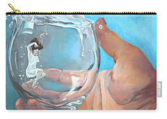 Staying Afloat Carry-all Pouch by Rachel Hames