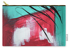 Staying In Miami Carry-all Pouch by Donna Blackhall
