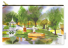 Ste Marie Du Lac In Watercolor II Carry-all Pouch