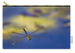 Carry-all Pouch featuring the photograph Stealth Chopper by Gary Holmes