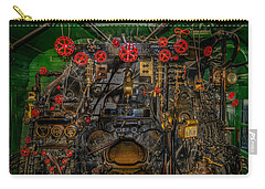 Steam Locamotive Controls Carry-all Pouch by Paul Freidlund