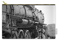 Steam Locomotive 1519 - Bw 02 Carry-all Pouch by Pamela Critchlow