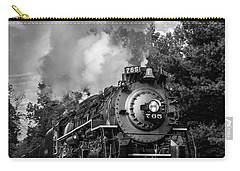 Steam On The Rails Carry-all Pouch