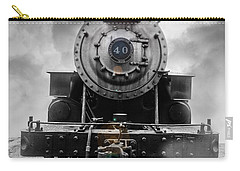 Steam Train Dream Carry-all Pouch by Edward Fielding