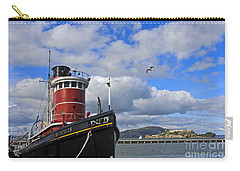 Carry-all Pouch featuring the photograph Steam Tug Hercules by Kate Brown