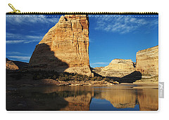 Steamboat Rock In Dinosaur National Monument Carry-all Pouch