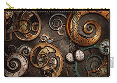 Steampunk - Abstract - Time Is Complicated Carry-all Pouch