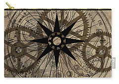 Steampunk Gold Gears II  Carry-all Pouch by James Christopher Hill