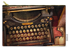 Steampunk - Just An Ordinary Typewriter  Carry-all Pouch