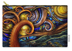 Steampunk - Starry Night Carry-all Pouch