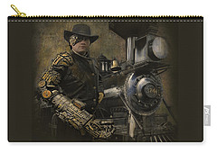 Steampunk - The Man 1 Carry-all Pouch