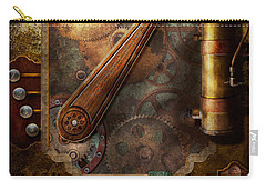Steampunk - Victorian Fuse Box Carry-all Pouch