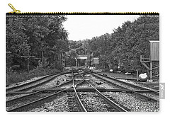 Steel Rail Intersections.   Point Of Rocks Md Carry-all Pouch