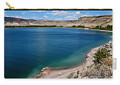 Carry-all Pouch featuring the photograph Steinacker Reservoir Utah by Janice Rae Pariza