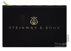Steinway And Sons Carry-all Pouch by David Bearden