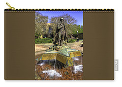 Carry-all Pouch featuring the photograph Stephen F. Austin Statue by Tim Stanley