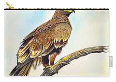 Steppe Eagle Carry-all Pouch by Anthony Mwangi