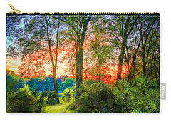 Stepping Stones To The Light Carry-all Pouch by Marvin Spates