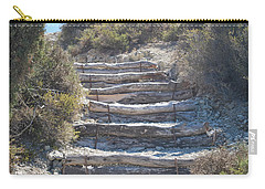 Steps In The Woods Carry-all Pouch by George Katechis