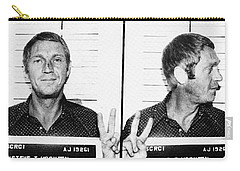 Steve Mcqueen Mugshot Carry-all Pouch
