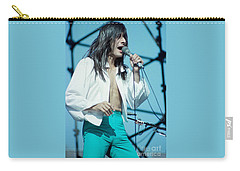 Steve Perry Of Journey At Day On The Green - July 1980 Carry-all Pouch