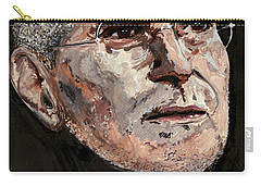 Carry-all Pouch featuring the painting Steven Paul Jobs by Gordon Dean II
