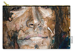 Carry-all Pouch featuring the painting Get Your Wings by Laur Iduc
