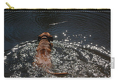 Carry-all Pouch featuring the photograph Stick by Mim White