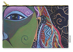 Still A Mystery 5 Carry-all Pouch by Helena Tiainen