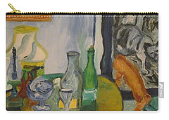Still Life  With Lamps Carry-all Pouch