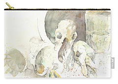 Still Life With Skulls Carry-all Pouch