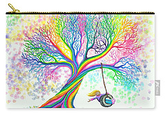 Still More Rainbow Tree Dreams Carry-all Pouch