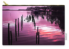 Carry-all Pouch featuring the photograph Still Water Dusk 2 by Wallaroo Images