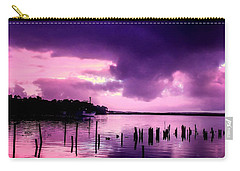 Carry-all Pouch featuring the photograph Still Water Dusk by Wallaroo Images