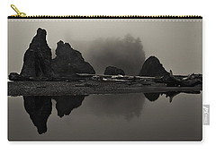 Stillness At Ruby Beach Carry-all Pouch