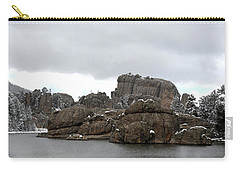Sylvan Lake In October Carry-all Pouch