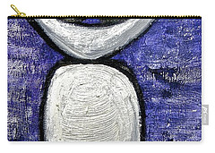 Carry-all Pouch featuring the painting Stills 10-002 by Mario Perron