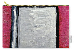 Carry-all Pouch featuring the painting Stills 10-004 by Mario Perron