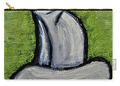 Carry-all Pouch featuring the painting Stills 10-005 by Mario Perron