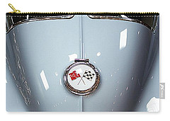 Classic Cars Carry-all Pouch featuring the photograph '63 Sting Ray  by Aaron Berg