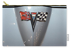 Vintage Car Carry-all Pouch featuring the photograph '63 Sting Ray by Aaron Berg