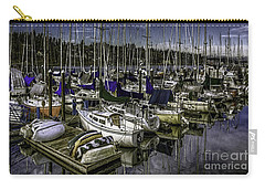 Carry-all Pouch featuring the photograph Stirring The Sky by Jean OKeeffe Macro Abundance Art