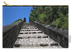 Carry-all Pouch featuring the photograph St.kitts - Ascent by HEVi FineArt