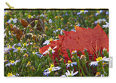 Carry-all Pouch featuring the photograph Stocking Up For The Winter by Gary Holmes