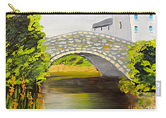 Stone Bridge At Burrowford Uk Carry-all Pouch